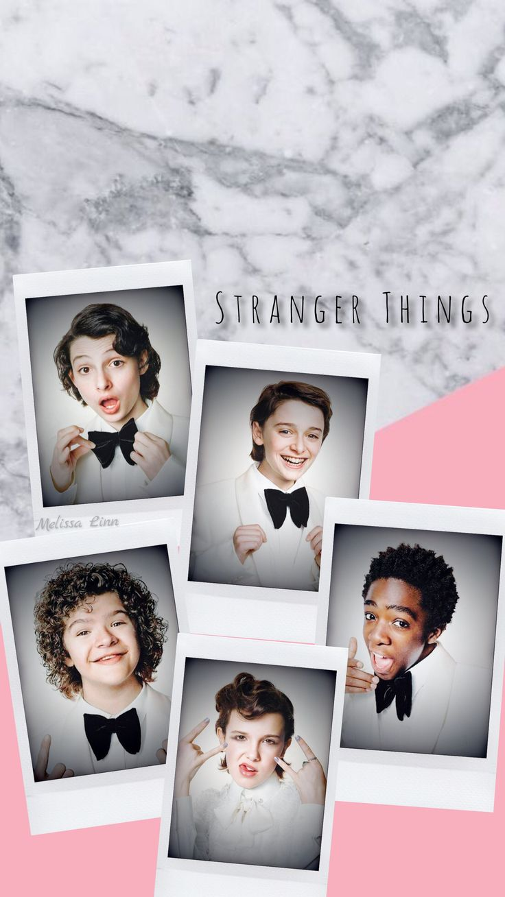 Lockscreen//Fondos de Pantalla Stranger Things  Finn, Noah, Gaten, Caleb, Millie