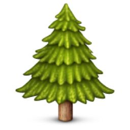 The Evergreen Tree Emoji on iEmoji.com