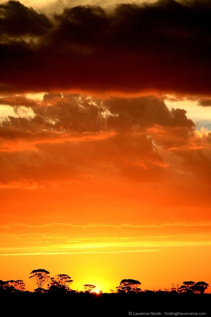 Sunset - Outback - Australia ❥http://PhilosBooks.com❥