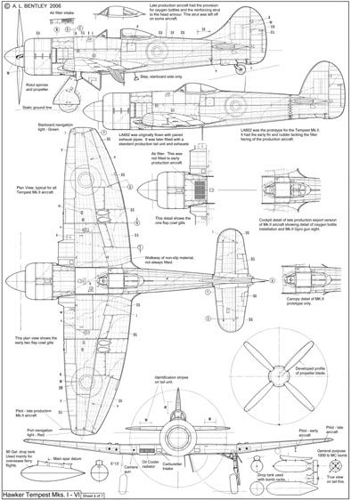 Hawker Tempest list 4