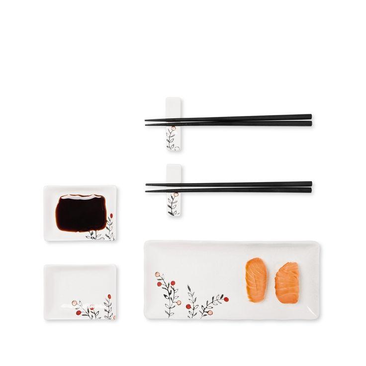 Sushi zestaw dla 2 #sushi #pałeczki #tigerpolska #tigerstore #kuchnia #kitchen #ceramika #ceramics