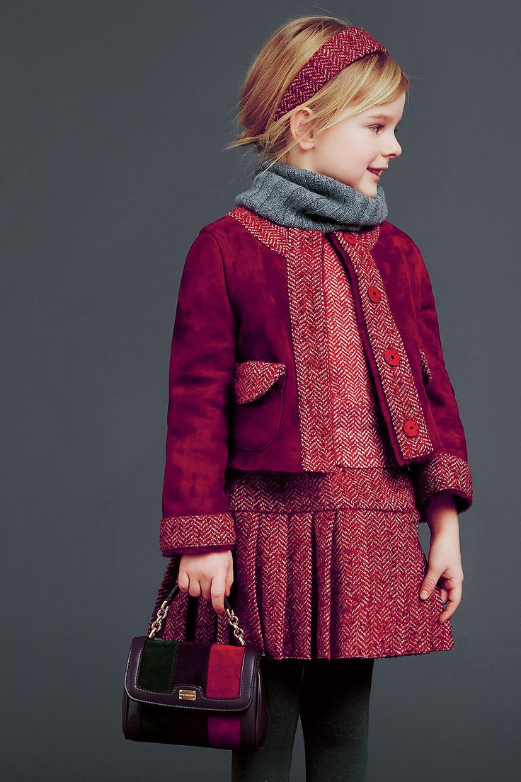 dolce and gabbana winter 2015 child collection 18