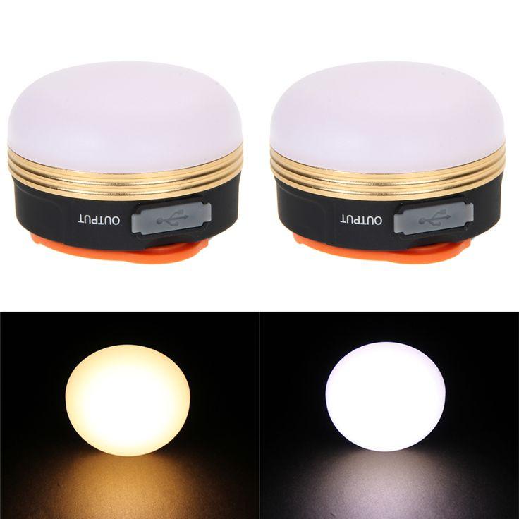 300LMs 3 W Brillante Fuerte USB Recargable CREE LED Deslumbramiento Luces de Pesca Bombilla lámpara de La Tienda Linterna Luz Que Acampa Portable Al Aire Libre