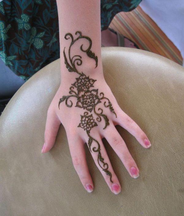 Amazing Floral Henna Designs
