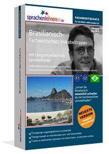 Brasilianisch lernen: Lernen Sie Brasilianisch Themen bezogen, zielgerichtet und schnell - mit dem nach Fachbereichen und Themen sortierten Vokabeltrainer!