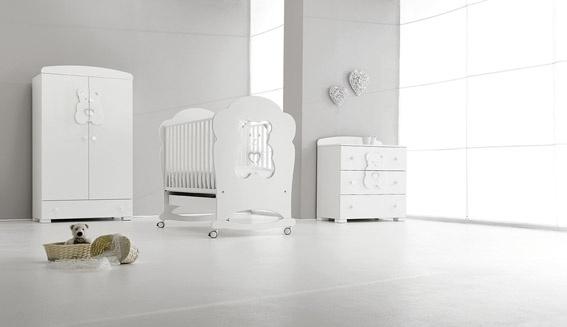 Tiffany collection - matt white