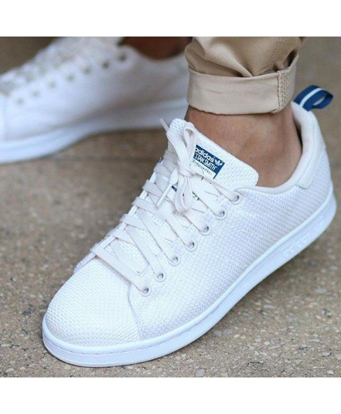 73aa6e415234 Adidas Stan Smith Mens Circular Knit Chalk White Traniers