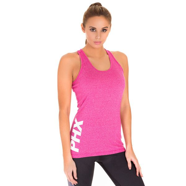 The first women's tank top offering from PHXFIT is available now!   Featuring a unique cotton/polyester material blend, the PHX Tank is lightweight, breathable, and offers a comfortable fit like no other. It gives provides performance and durability in the gym, and a stylish, slim fit for out of the gym.   Pink and Charcoal colors available, with more on the way!