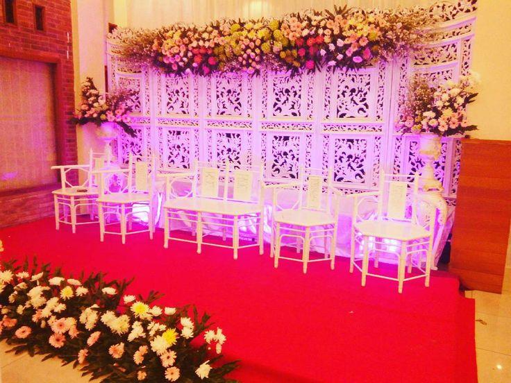 Dekorasi Pernikahan Di Rumah Modern Sederhana Minimalis Yang Elegan Atau Dekorasi Pelaminan Terbaru