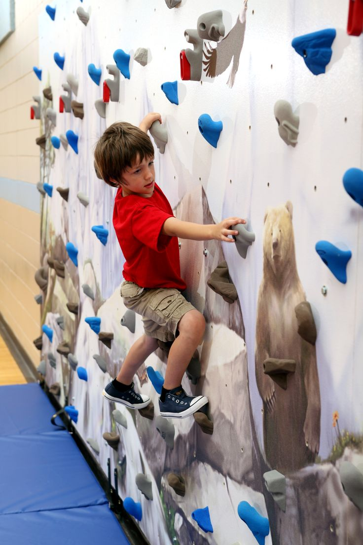Mountain Scene Mural Climbing Wall 14 best