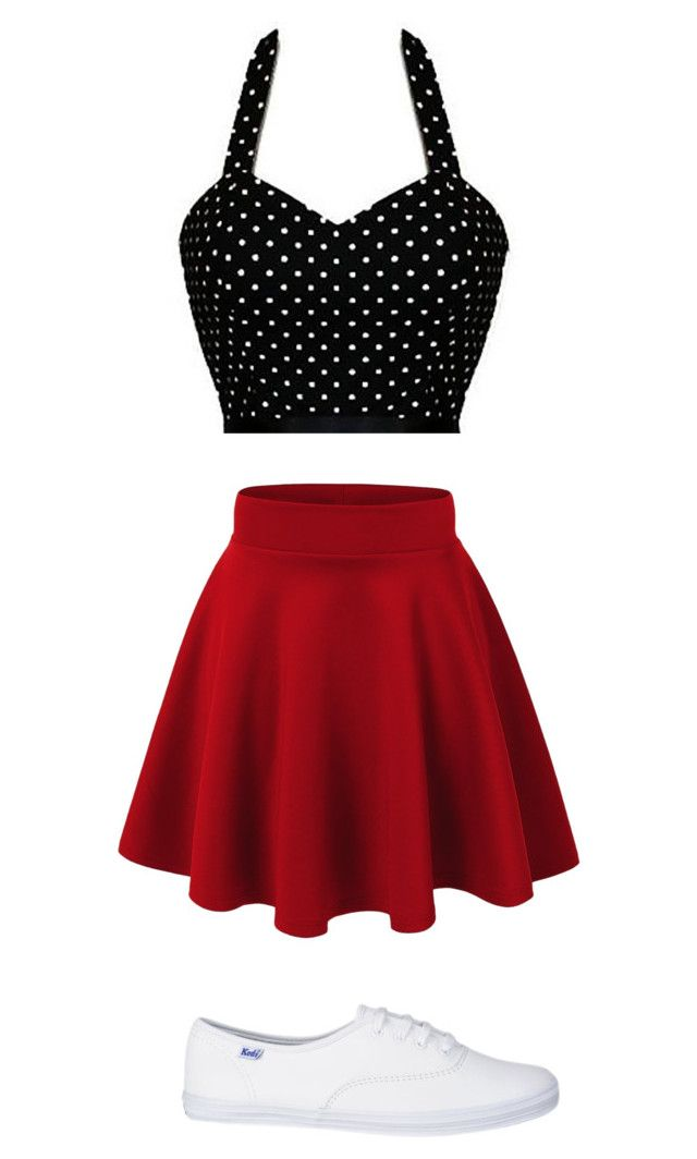 Back to the 50's by cheerleader2015 on Polyvore featuring polyvore, fashion and style
