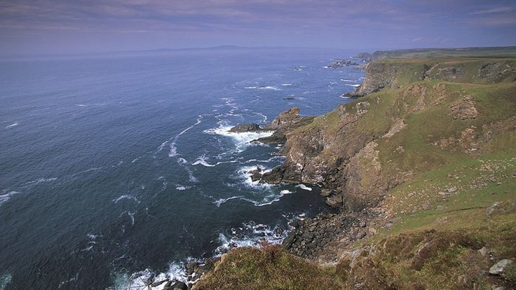 Sea cliffs at The Mull of Oa, Islay