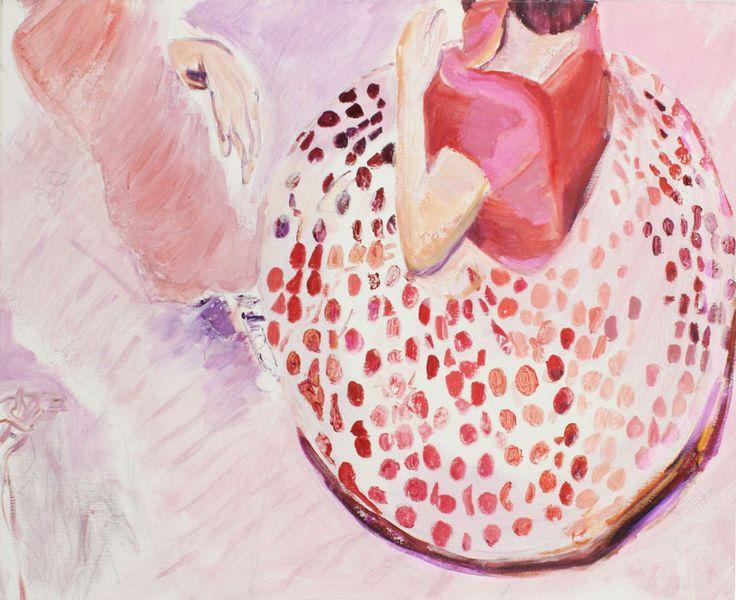 Marli Turion, Dance 3, 2014, acryl  on canvas 80 x 100 cm
