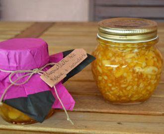Marmellata di melone e mandorle