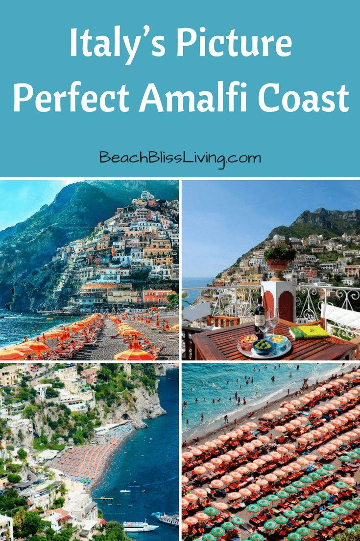 Picture Perfect Positano on Italy's Amalfi Coast & Spiaggia Grande