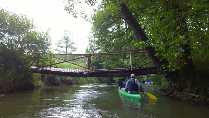 Czech Adventures event - Going under the bridge.