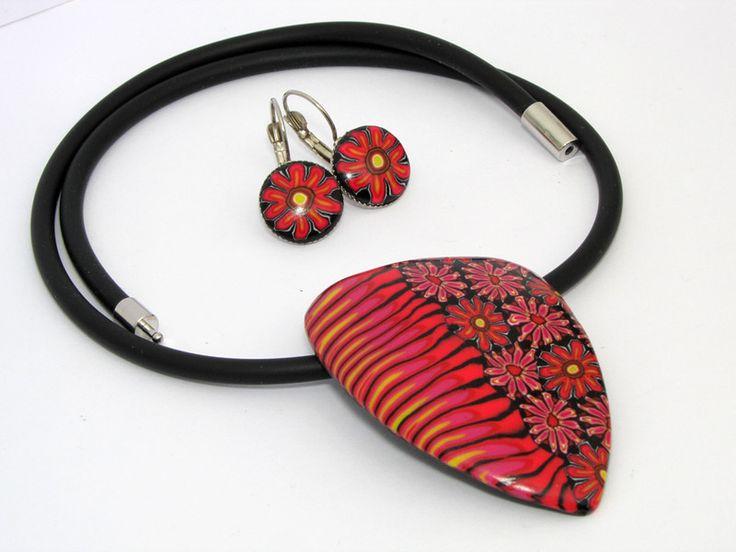 die besten 25 polymer clay halskette ideen auf pinterest ton kunsthandwerk kawaii handwerk. Black Bedroom Furniture Sets. Home Design Ideas