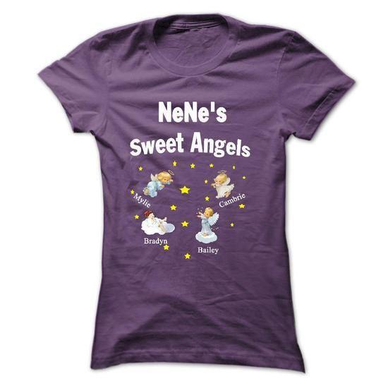 NeNes  Sweet Angels T-Shirts, Hoodies (21.95$ ==►► Shopping Here!)