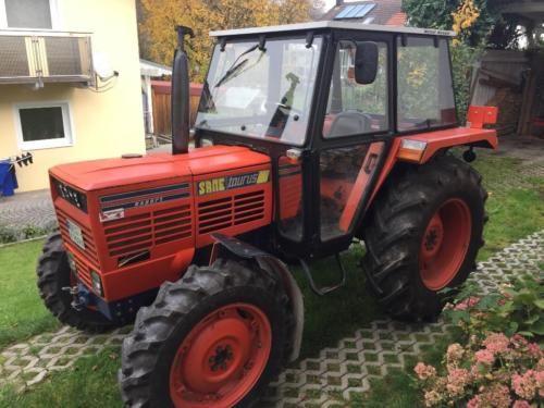 Traktor Same Taurus in Metten