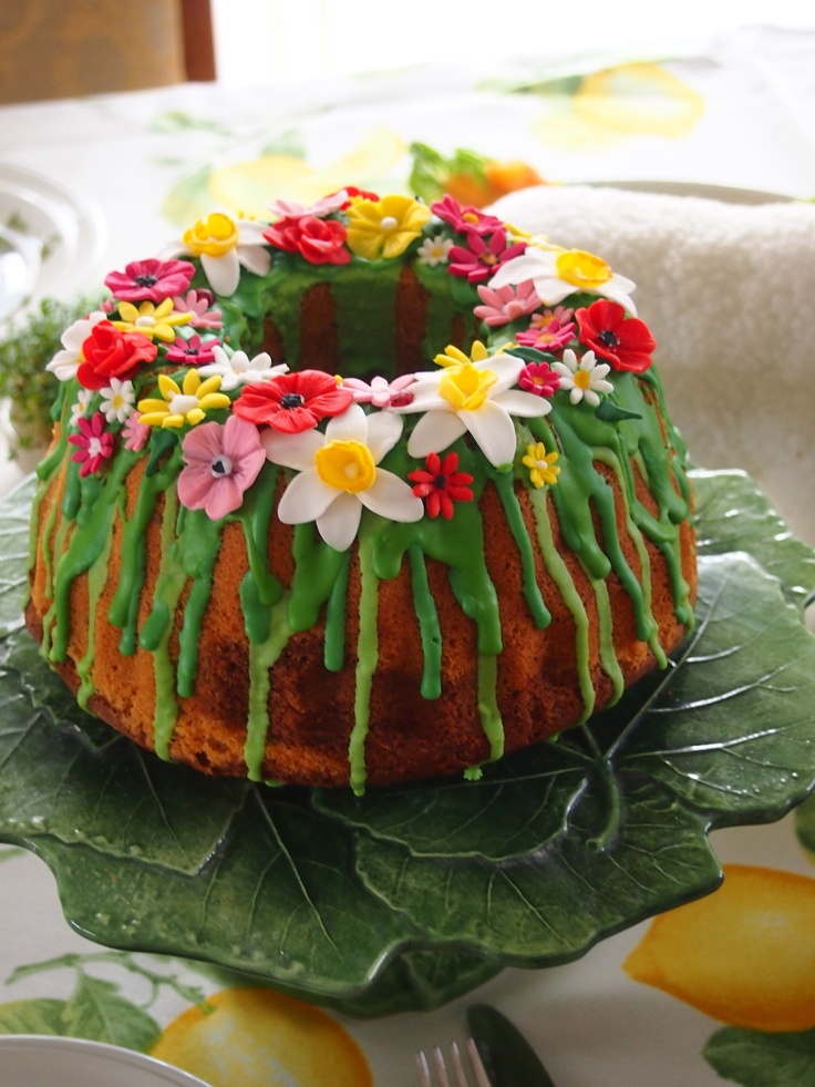 easter bundt cake.....paas tulband.....wielkanocna babka