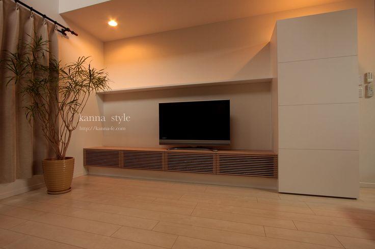 オーダーメイド壁面収納   神戸のオーダー家具【kanna】テレビボード・テーブル・キッチン等をあなた好みに提案する家具屋   ページ 3