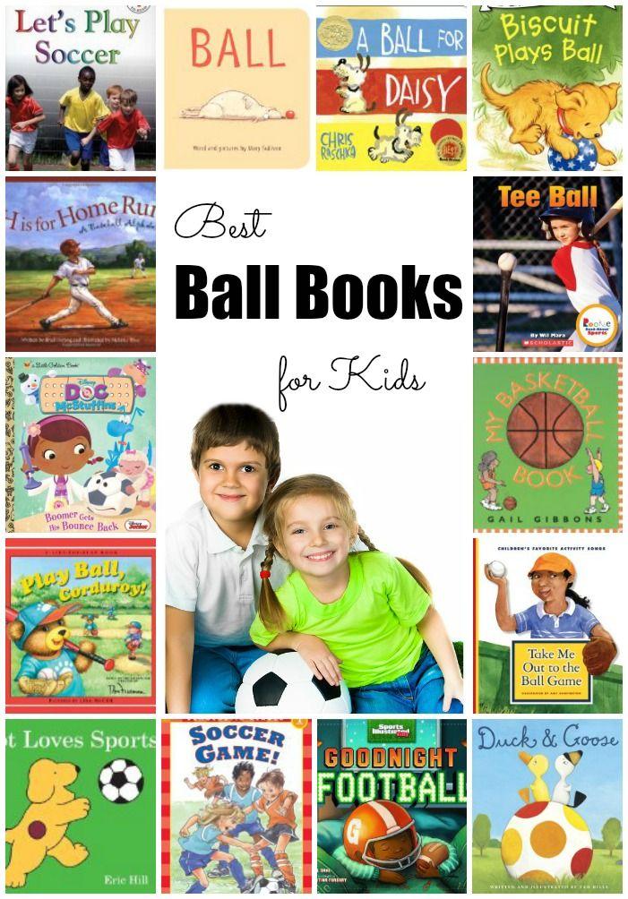 Best Ball Books for Kids to Read. From beginning readers to non-fiction picture books, your sports loving kid will sure find a book that interests them!