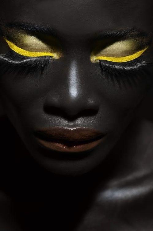 yellow lipstick dark skin - photo #13