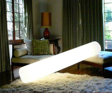Unormal lampe, design