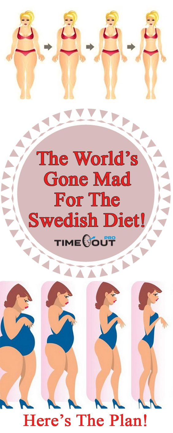 The world's gone mad for the Swedish diet that shows results very fast and it's very easy to handle. This diet includes a reduced intake of carbohydrates, and it is mostly focused on taking fats and p