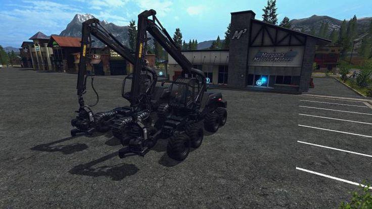 Ponsse ScorpionKing Carbon Matte v1.0 - FS17