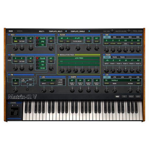 Arturia Oberheim Matrix 12 V Software Synthesizer [Download]
