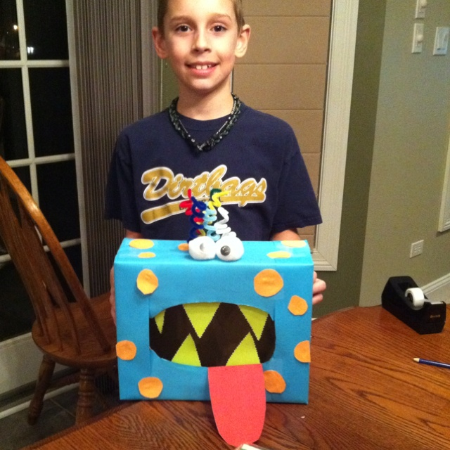 Decorate Valentine Box For Boy 56 Best Crafty Images On Pinterest  Valentines Holiday Ideas And
