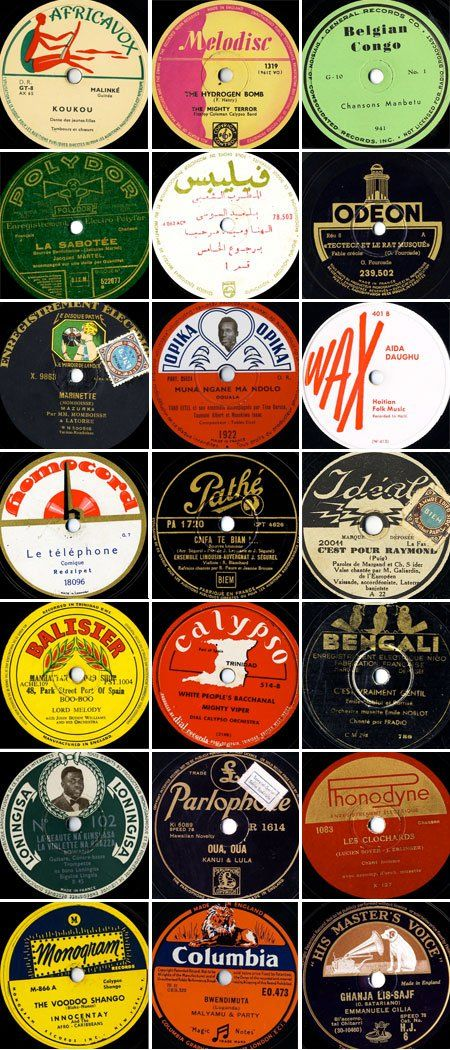 78 RPM Record Labels, part 4