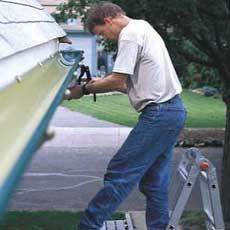 Owner of Classic Gutter Systems, LLC featured on www.thisoldhouse.com installing half round gutter from Classic Gutter Systems. Great step-by-step article!