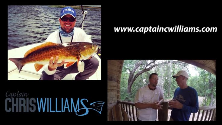 Captain Chris Williams with Fish Happens Outdoors talking about his char...
