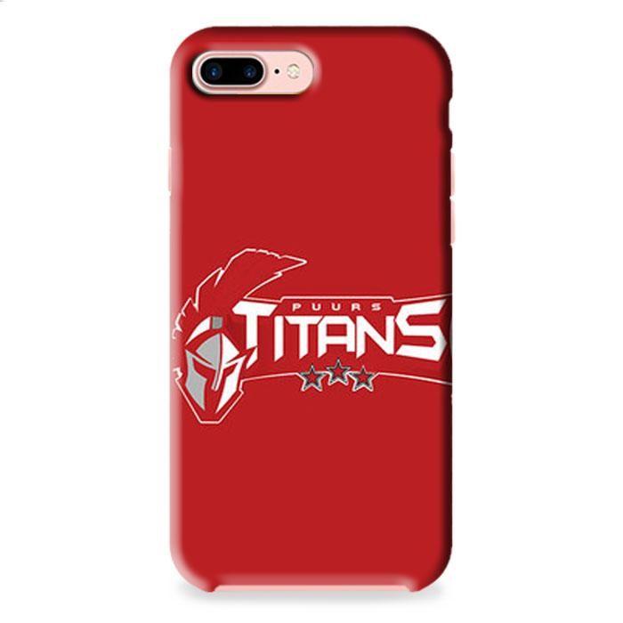 Puurs Titans Logo Red iPhone 7 3D Case Dewantary