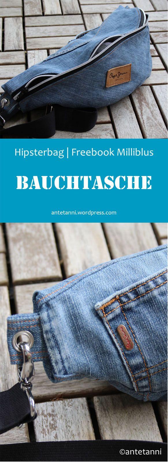 Hipster Bauchtasche (Freebook)