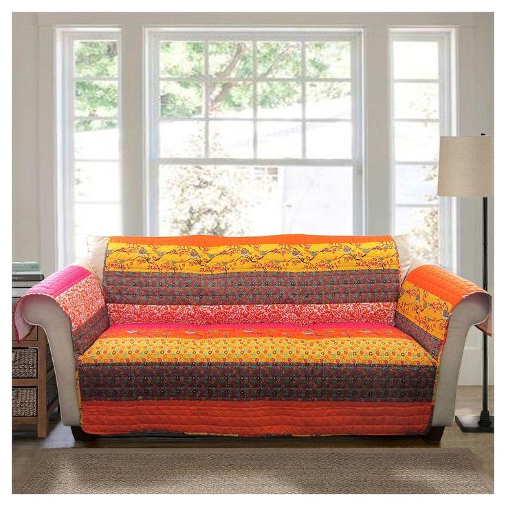 Royal Empire Furniture Protectors Tangerine (Orange) Sofa