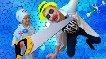 Bad Baby ДОКТОР Лечит Джокера BABY DOCTOR Check Up Freaky Joker http://video-kid.com/21530-bad-baby-doktor-lechit-dzhokera-baby-doctor-check-up-freaky-joker.html  Bad Baby ДОКТОР Лечит Джокера BABY DOCTOR Check Up Freaky Joker Вредные детки лечат зубы Джокеру. Джокер боится врача.Дети делают укол. Веселое топ видео для детей. Bad kids pretend play doctor. Joker afraid doctor.Children make an injection. Comedy Top Video for KidsBad Baby vs Crazy Doctor делает уколы детям СТРАШНЫЙ Доктор и…