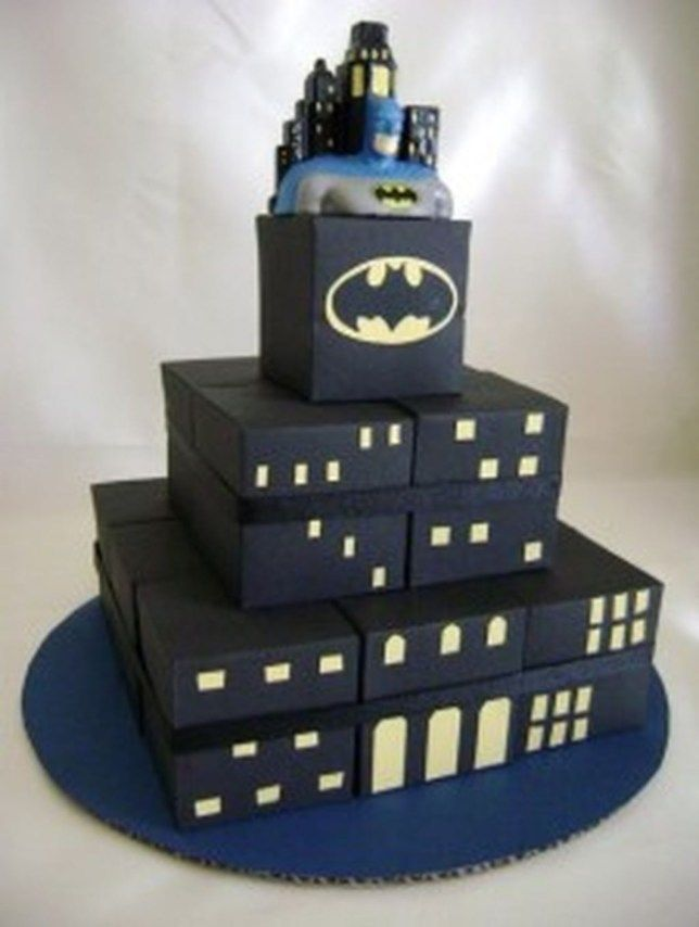 Best adorable batman grooms cake ideas 12