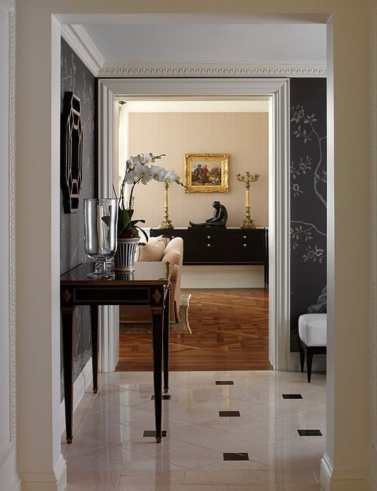 richard mishaan st regis presidential suite hallway pinterest. Black Bedroom Furniture Sets. Home Design Ideas