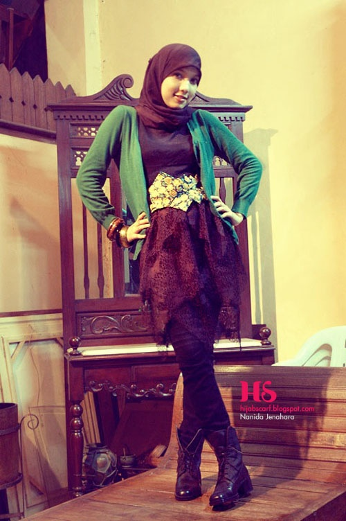 Style Spotted : Nanida Jenahara Part II | Hijab Scarf