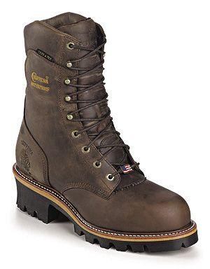 Chippewa Men's Logger Style Boots