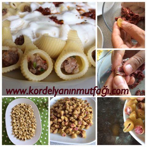 Kordelyanın mutfağı: MANTI MAKARNA