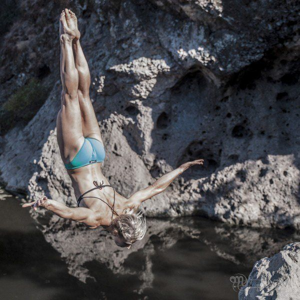 Outside magazine talked to Jessie Graff about how she became a real-life superhero.