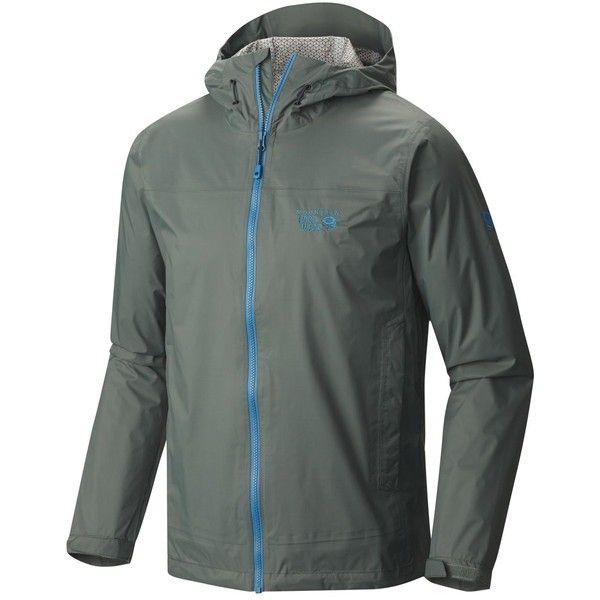 Mountain Hardwear Plasmic Ion Jacket (67,875 KRW) ❤ liked on Polyvore featuring men's fashion, men's clothing, men's activewear, men's activewear jackets and mens activewear