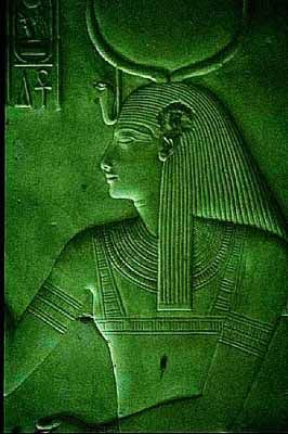 Isis the Egyptian goddess of Wives, Mothers, Nature and Magic. Beautiful. Irene at Abydos, Dendera, Temple of Hatshepsut