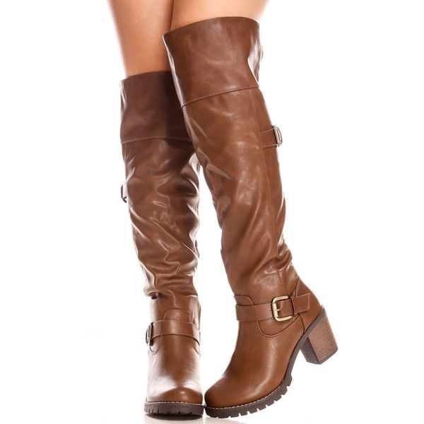 17 best ideas about Brown Thigh High Boots on Pinterest   Knee ...