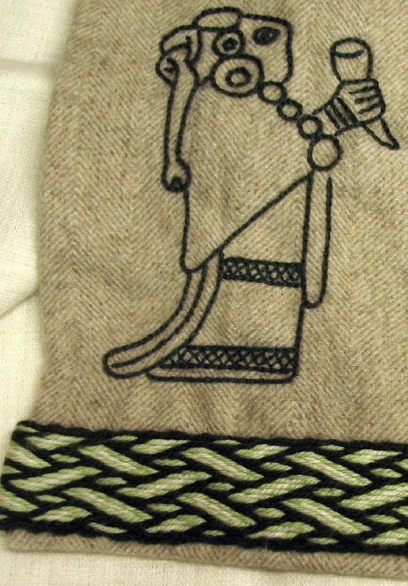 Viking embroidery patterns makaroka