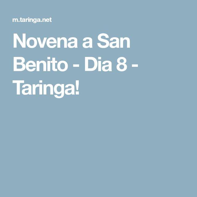 Novena a San Benito - Dia 8 - Taringa!